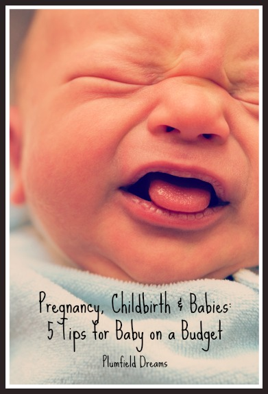 5 Tips for Baby on a Budget